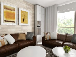 Projekt wnętrza mieszkania - Skorupski Studio