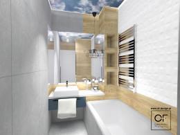 Łazienka pod chmurką