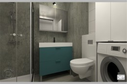 Projekt mieszkania 30,03 m2 pod klucz Warszawa Bemowo