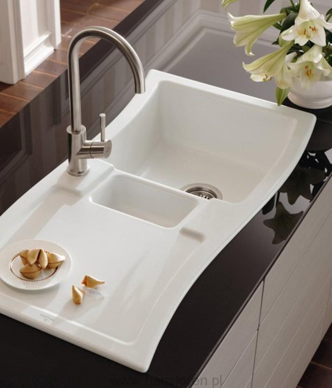 jaki zlewozmywak ceramika konglomerat czy granit. Black Bedroom Furniture Sets. Home Design Ideas